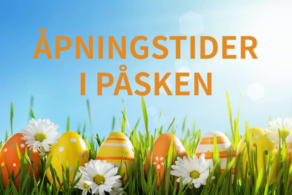 Otto Olsen opening hours at Easter